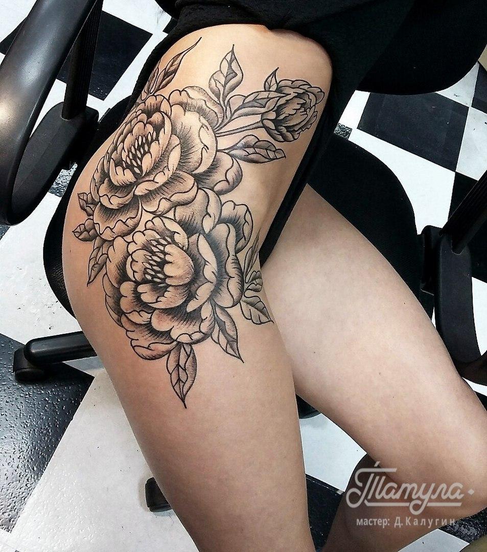 Цветов в виде татуировки